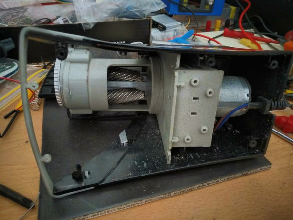 Guts of the sharpener